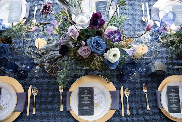 Celestial Wedding Tablescape - Vanessa Anne Photography