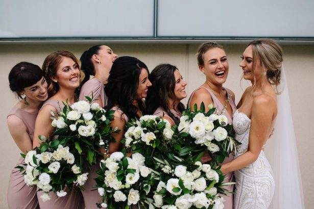 Chic bridal party - Photography: Prue Franzman