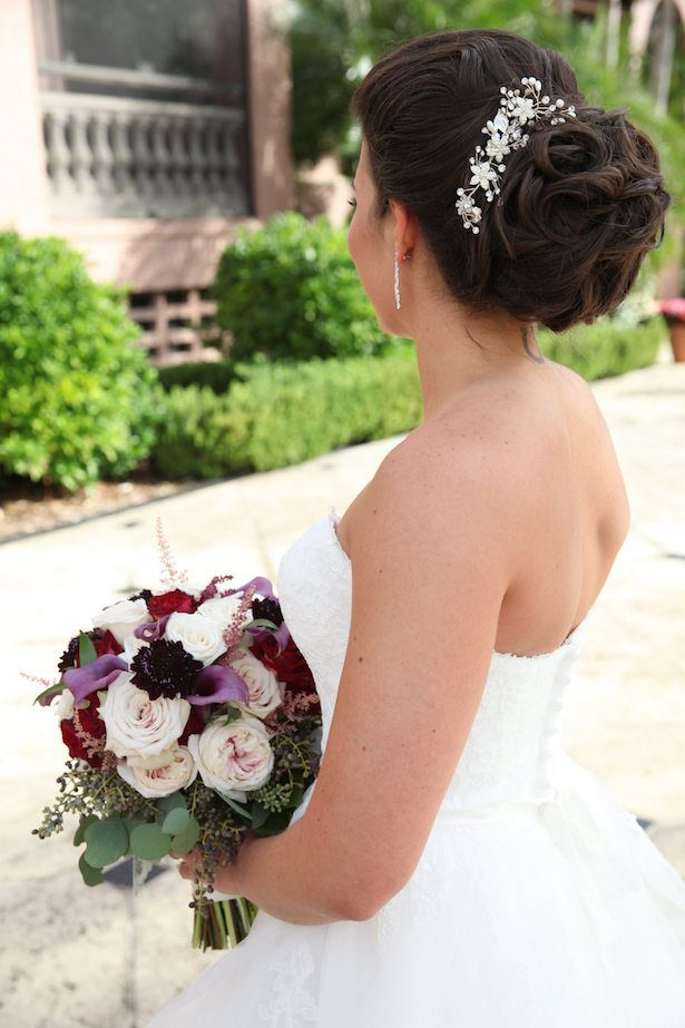 Classic bridal hairstyle - Tab McCausland Photography