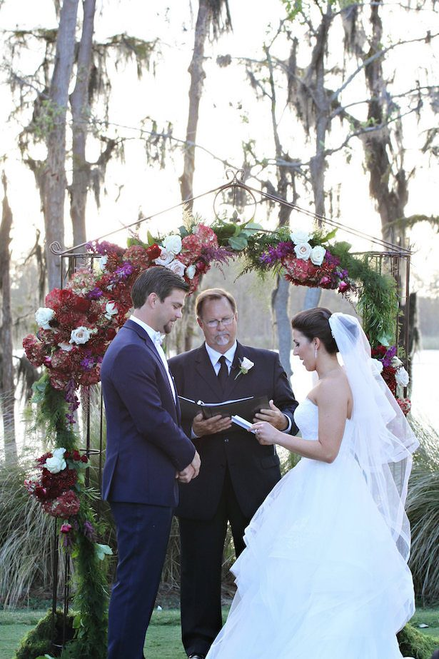 Elegant Outdoor wedding ceremony - Tab McCausland Photography