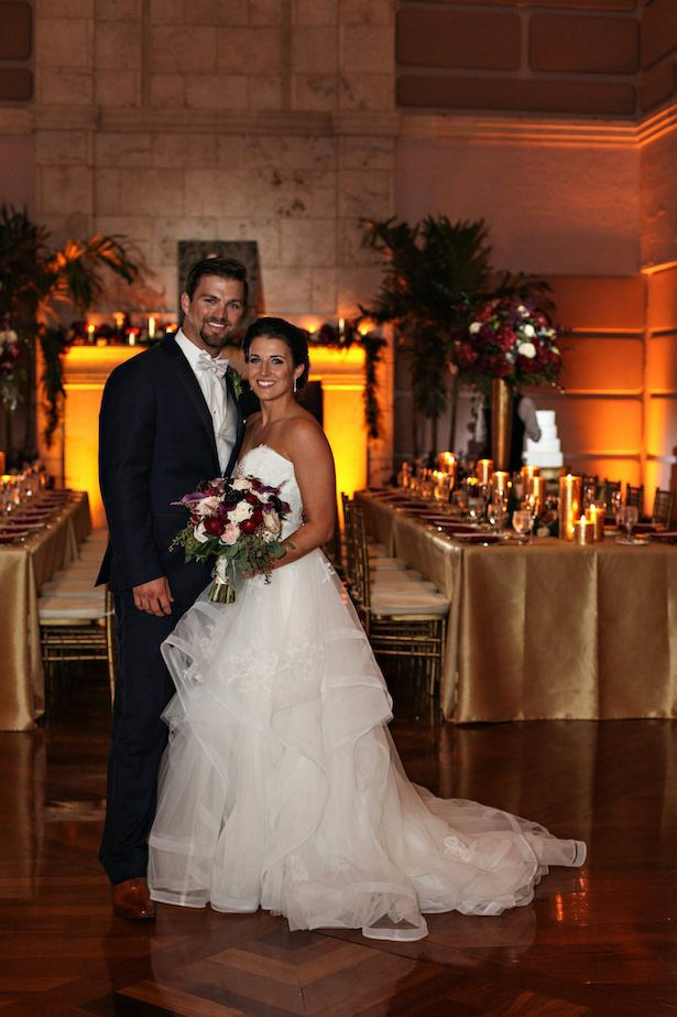 Elegant Wedding Reception - Tab McCausland Photography