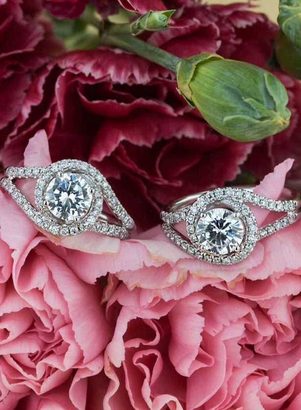 Engagement rings by Simon G