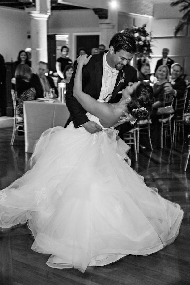 First wedding dance photo - Tab McCausland Photography