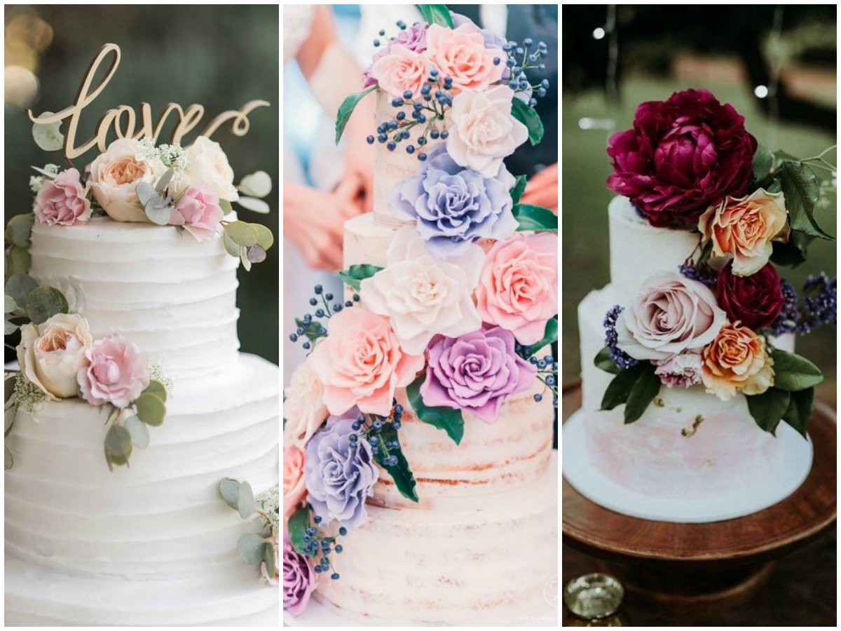 20 Floral Wedding Cake Ideas To Add A Dose Of Romance To Your Big Day