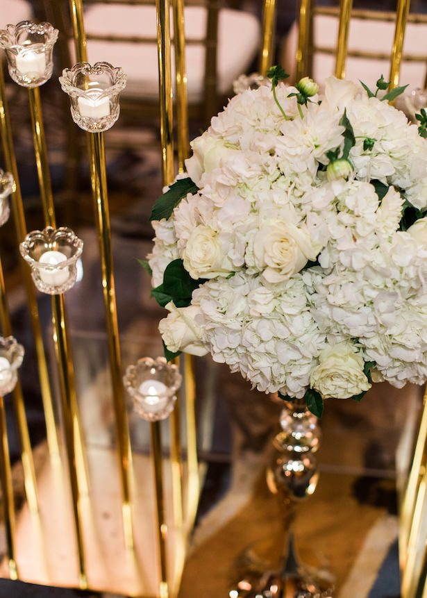 Gold wedding decor- Alexandra Knight Photography