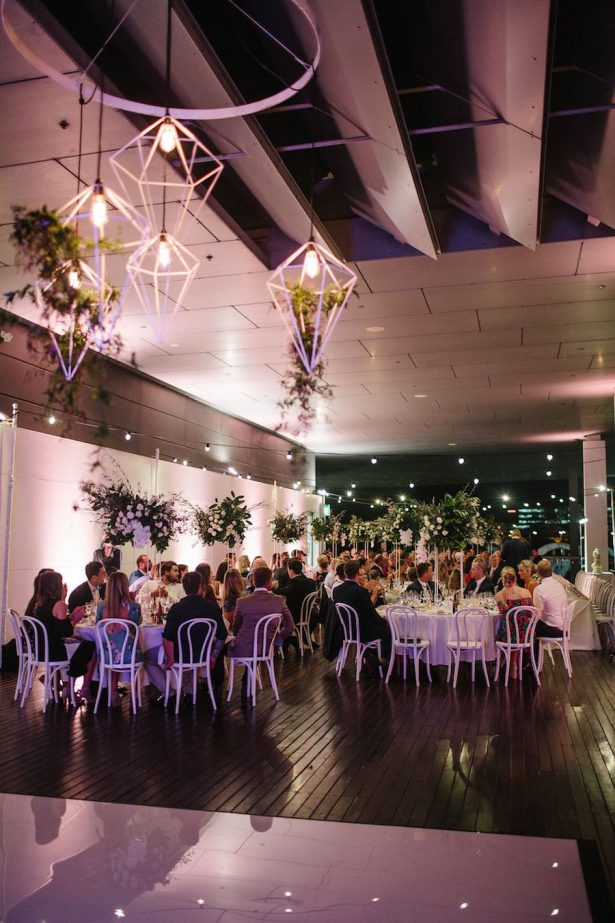 Modern Wedding Reception - Photography: Prue Franzman