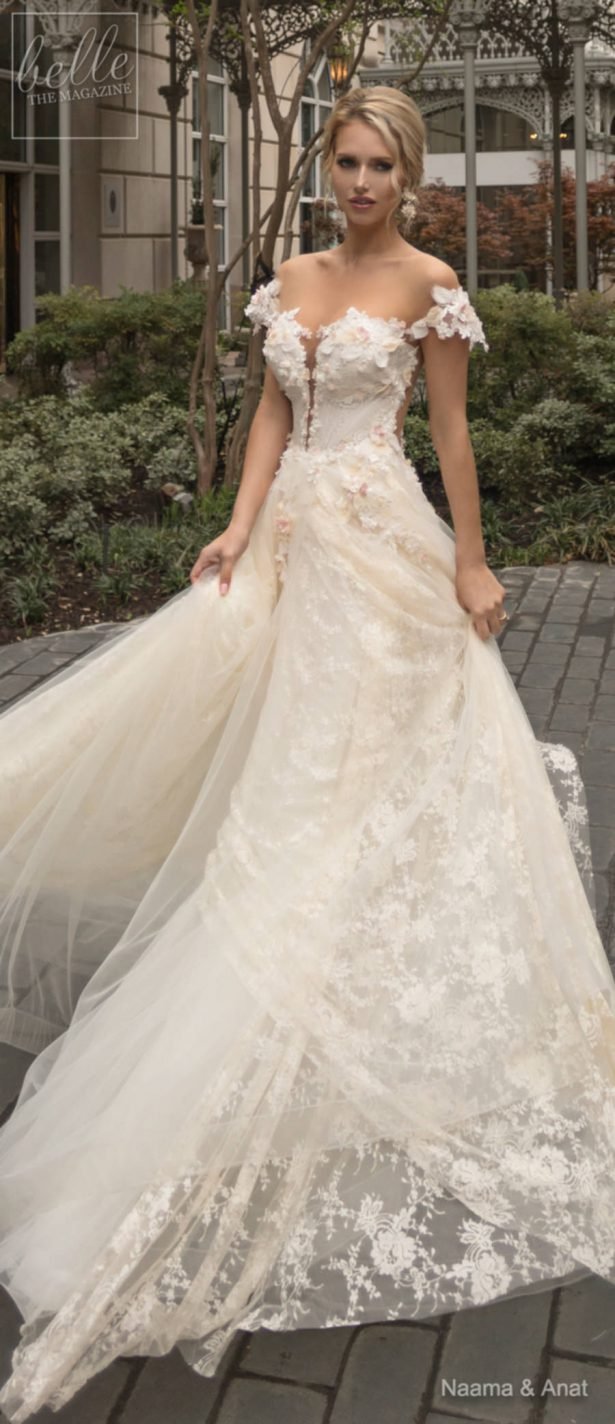 7c3a6c0d94 ... Naama and Anat Wedding Dress Collection 2019 - Dancing Up the Aisle -  TANGO ...