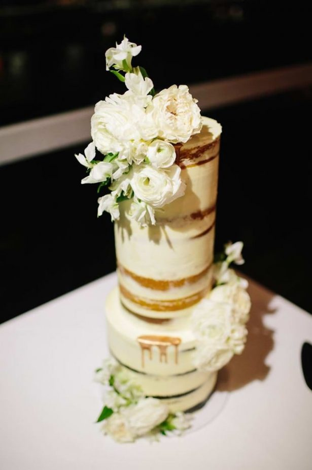 Naked Wedding Cake - Photography: Prue Franzman