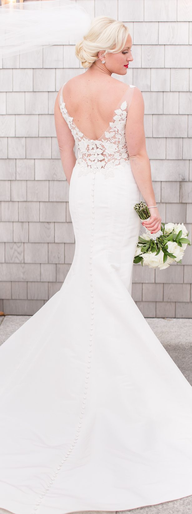 Non Strapless Wedding Dresses - Cape Cod Celebrations - The Ewings Photography Studio