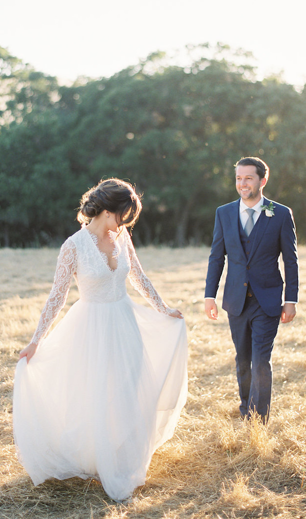 Non Strapless Wedding Dress - 010. Feathered Arrow - Katie Shuler Photography