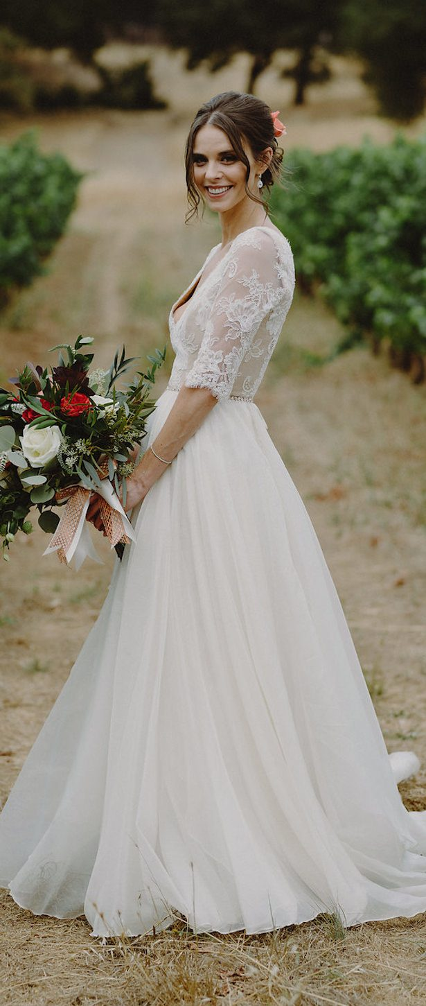 Non Strapless Wedding Dress - 024. So Eventful - Sam Hugh Photography