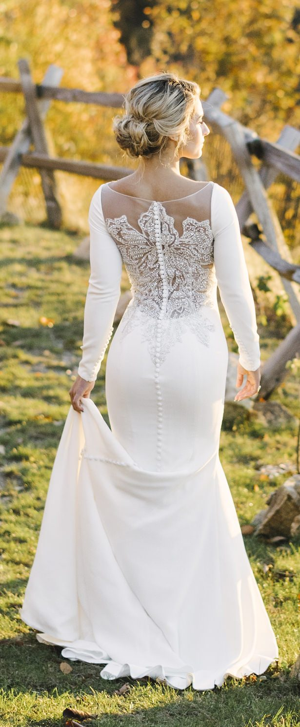 Non Strapless Wedding Dress - Alicia King Photography