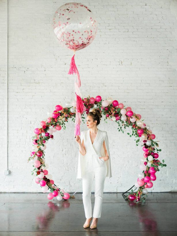 Wedding Balloon Arch - Photography: Austin Trenholm
