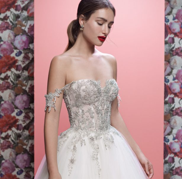 Wedding Dresses By Galia Lahav Couture Bridal Spring 2019 Collection: Queen of Hearts