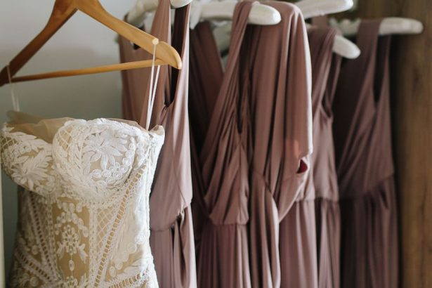 Wedding and bridesmaid dresses - Photography: Prue Franzman