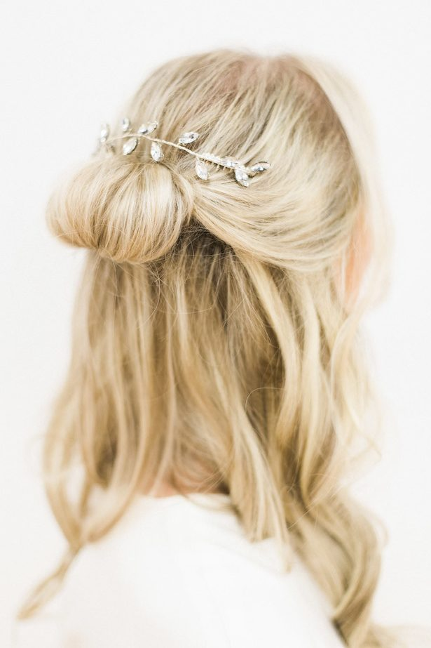 Wedding updo - Esther Funk Photography