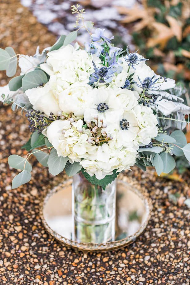 Winter Wedding Bouquet - Lieb Photographic