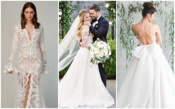 Bridal Trends: Non Strapless Wedding Dresses