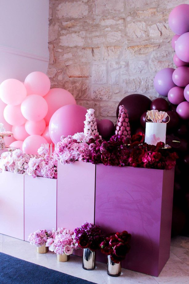 Wedding balloon backdrop - Sweet Event Styling by Thanh
