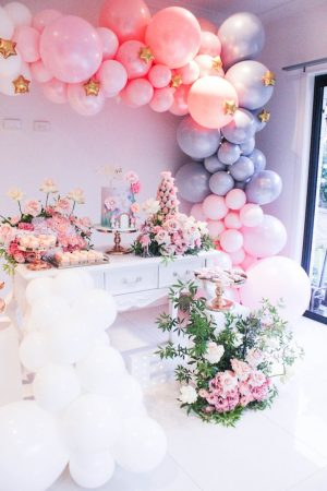 Wedding balloon installation - Sweet Event Styling by Thanh