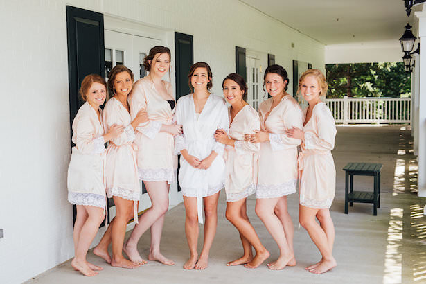 Blush Bridesmaid robes - Rachel Figueroa Photography