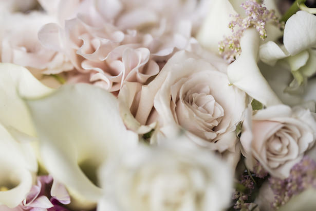 Blush Romantic Wedding Flowers - Aislinn Kate Photography