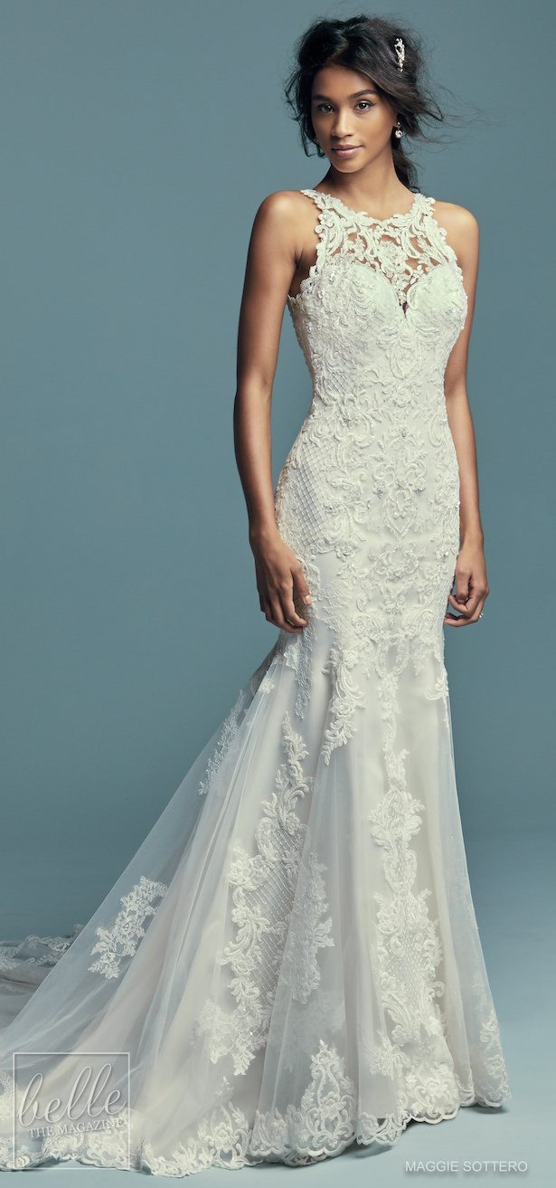 Bridal Trends - Halter Wedding Dress - Maggie Sottero