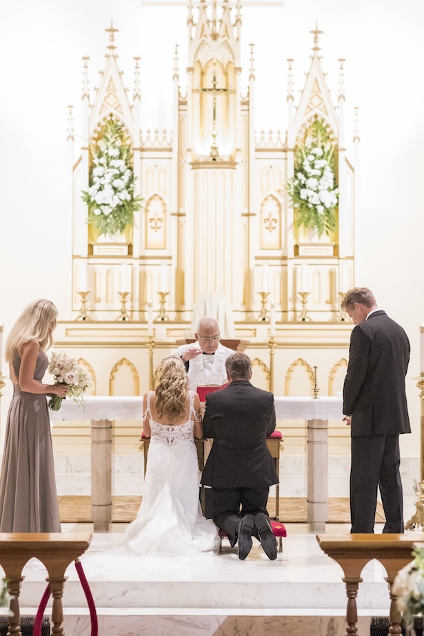 Church wedding ceremony - Aislinn Kate Photography