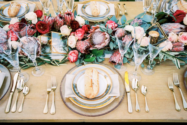 Creative Wedding Place Setting Idea 013. Tyler Speier Events - James and Jess Photography - Rentals by The Tent Merchant