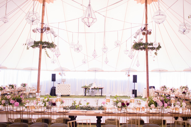 Elegant Tent Wedding Dance Floor - Acqua Photo Photography