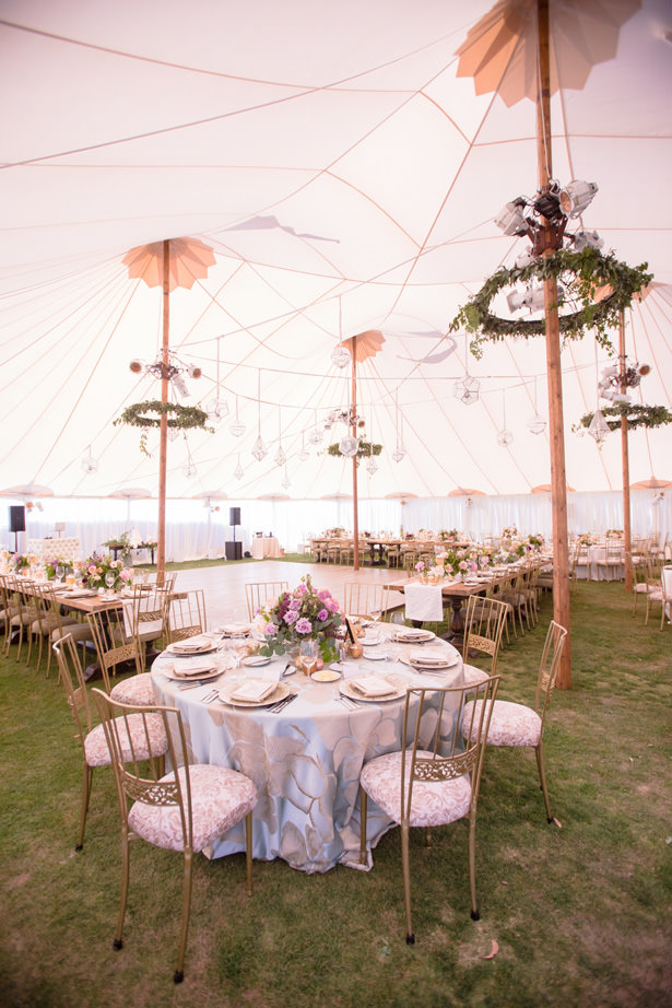 Elegant Tent Wedding Reception Decor - Acqua Photo Photography