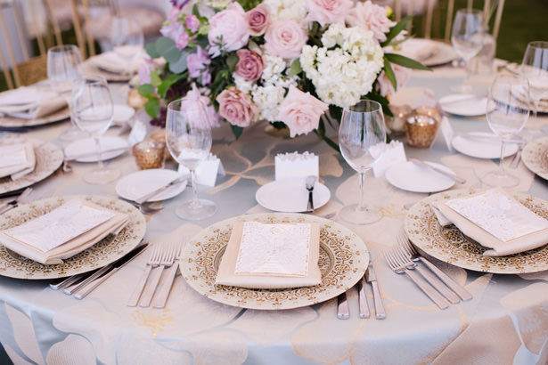 Elegant Wedding Place Setting - Acqua Photo Photography