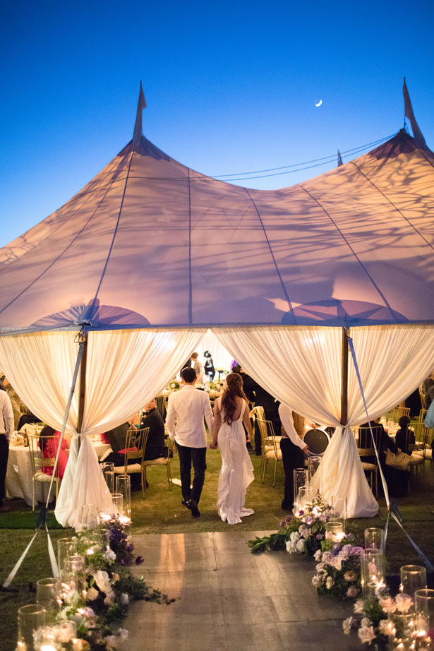 Elegant Wedding Tent Reception - Acqua Photo Photography