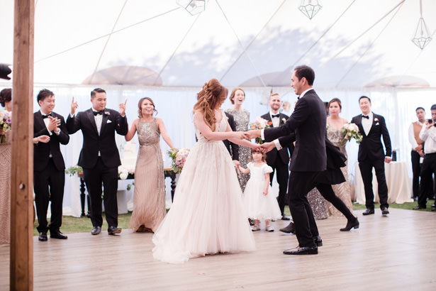 Elegant Wedding Tent Reception Dance - Acqua Photo Photography