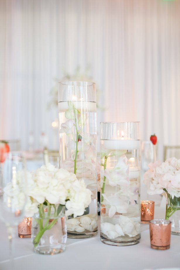 Elegant and simple wedding centerpiece - Lifelong Photography Studio