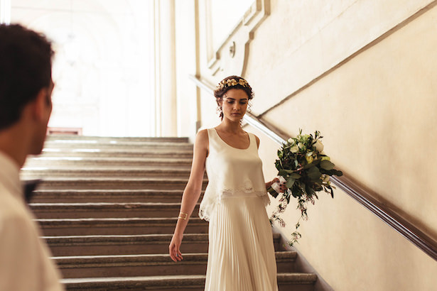 Greek Meet Modern Wedding- Photography: Miriam Callegari