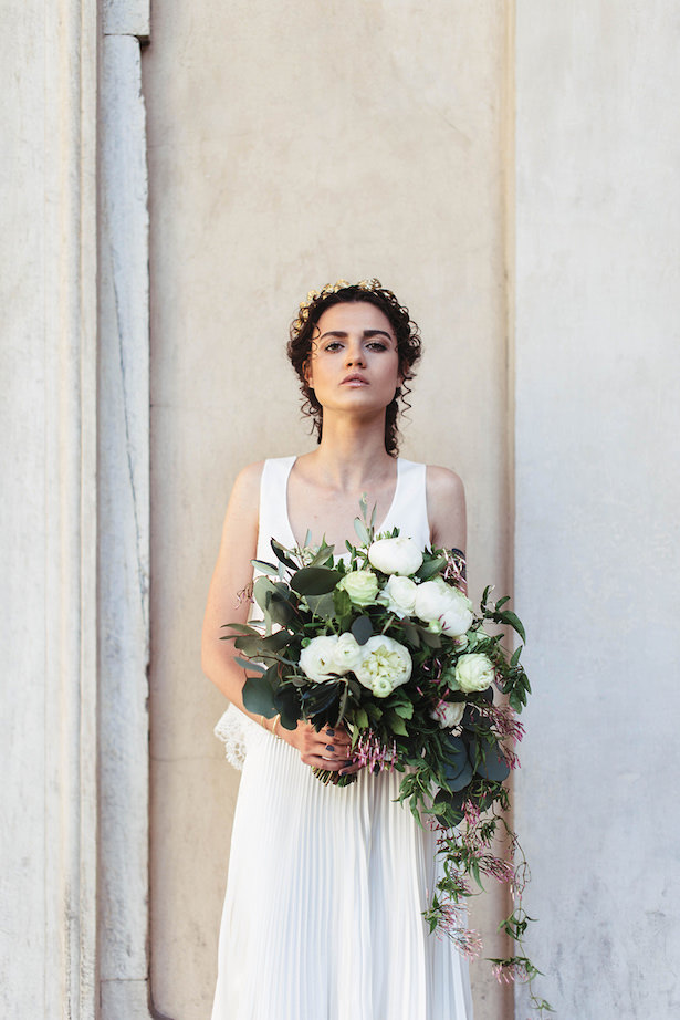 Greek meets Modern Bride - Photography: Miriam Callegari