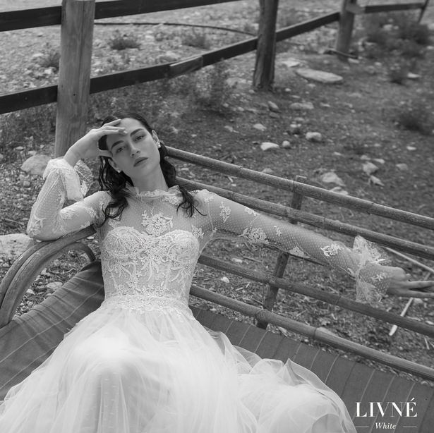 Livné White 2019 Wedding Dress - Eden Bridal Collection - Alina