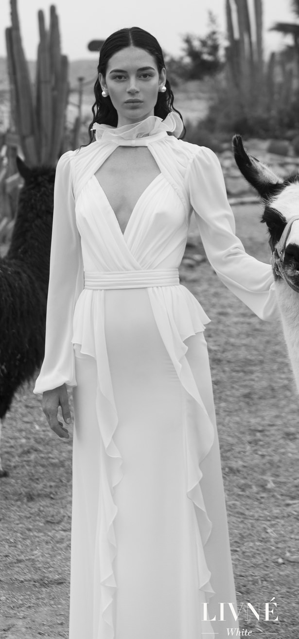 Livné White 2019 Wedding Dress - Eden Bridal Collection - Nancy