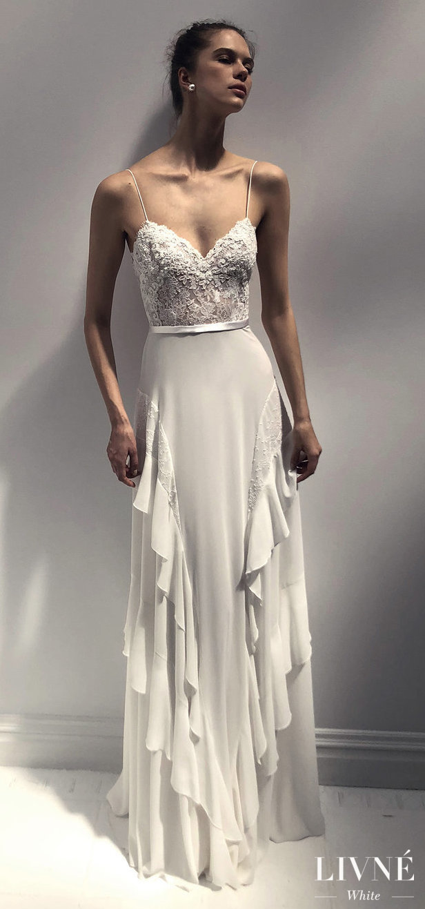 Livné White 2019 Wedding Dress - Eden Bridal Collection -REINA