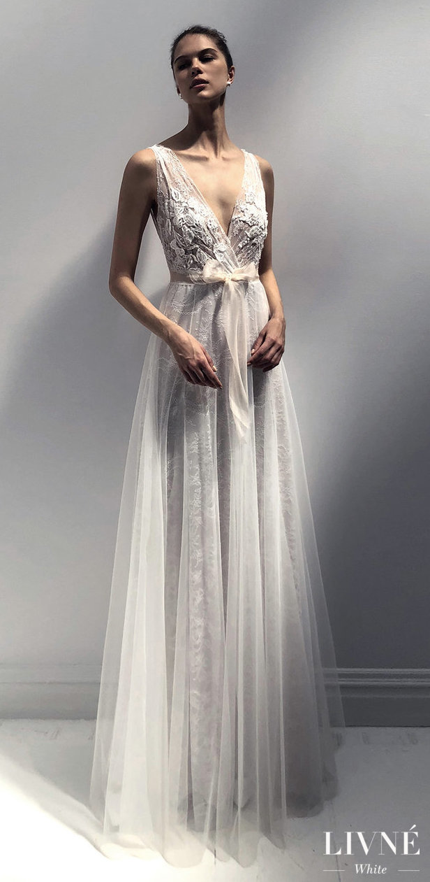 Livné White 2019 Wedding Dress - Eden Bridal Collection -TRACY