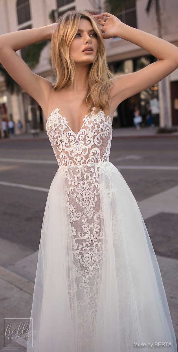 MUSE by BERTA Spring 2019 Wedding Dresses - City of Angels Bridal Collection