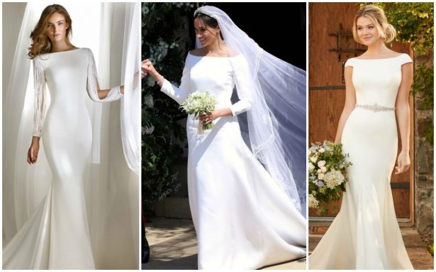 Simple Wedding Dresses Inspired by Meghan Markle – Part 1