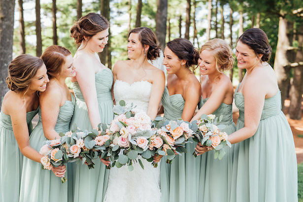 Mint long bridesmaid dresses - Rachel Figueroa Photography - Rachel Figueroa Photography
