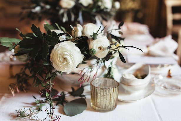 Modern wedding centerpiece- Photography: Miriam Callegari