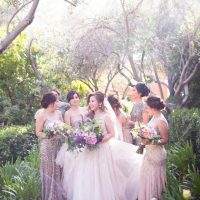 Neutral Long Bridesmaid Dresses - Acqua Photo Photography