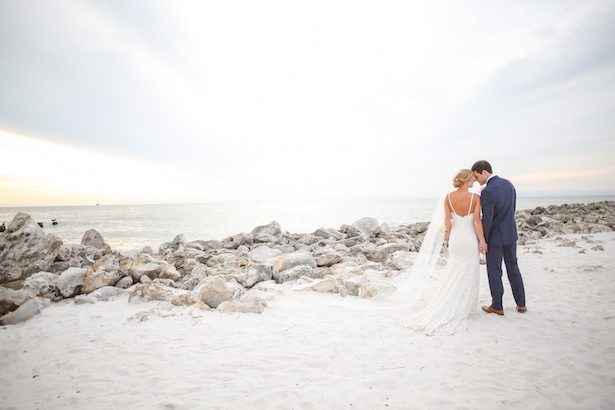 Romantic Beach Wedding Photo 18