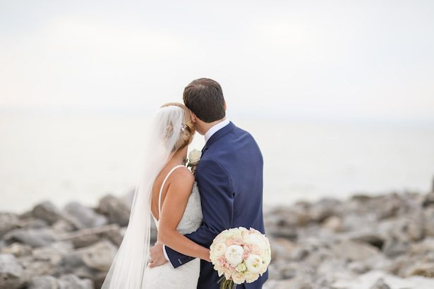 Romantic Beach Wedding Photo - Lifelong Photography Studio