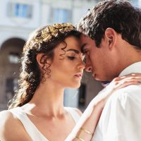 Romantic Wedding Photo - The Gods in Love - Miriam Callegari