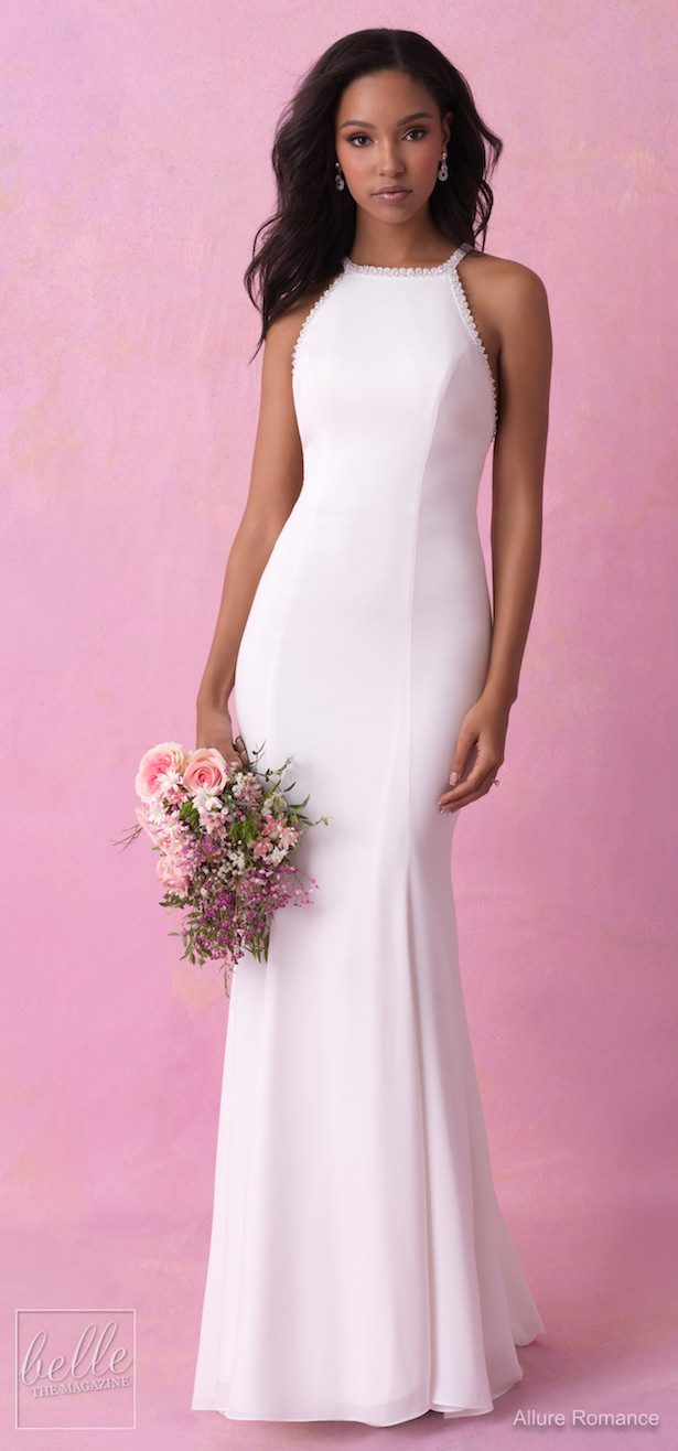 Simple Wedding Dresses Inspired by Meghan Markle - Allure Romance Fall 2018